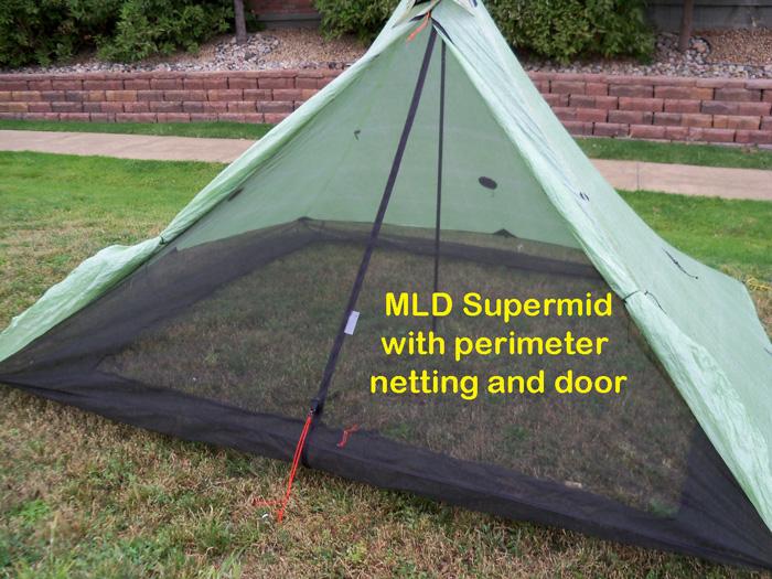 MLD Supermid with perimeter netting/door and custom floor & BearPaw WD custom page