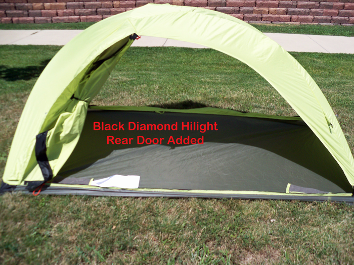 Black Diamond Hilight 2 with rear door added & BearPaw WD custom page