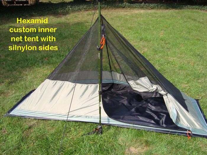 Hexamid Custom Inner Bug Net Tent & BearPaw WD custom page