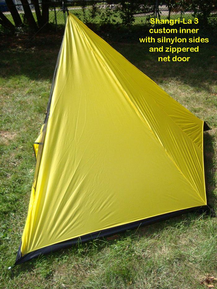 Shangri-la 3 Custom Silnylon Inner Tent & BearPaw WD custom page