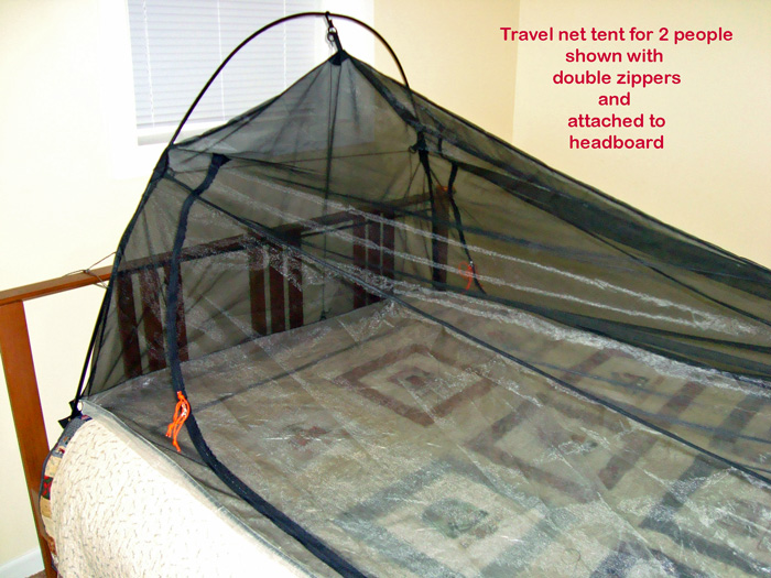 Indoor/Outdoor Travel Net for 2 (Stop those bed bugs) & BearPaw WD custom page
