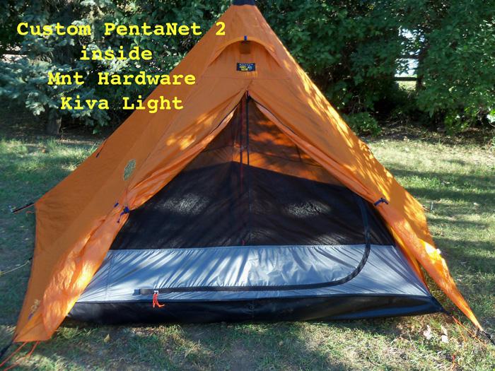 Mountain Hardware Kiva with custom inner net tent & BearPaw WD custom page