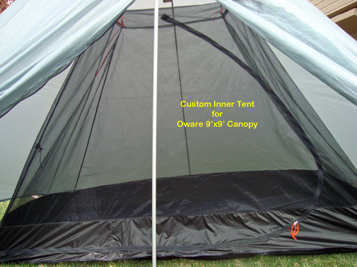 Custom Inner Tent for Oware 9u0027x9u0027 Canopy & BearPaw WD custom page